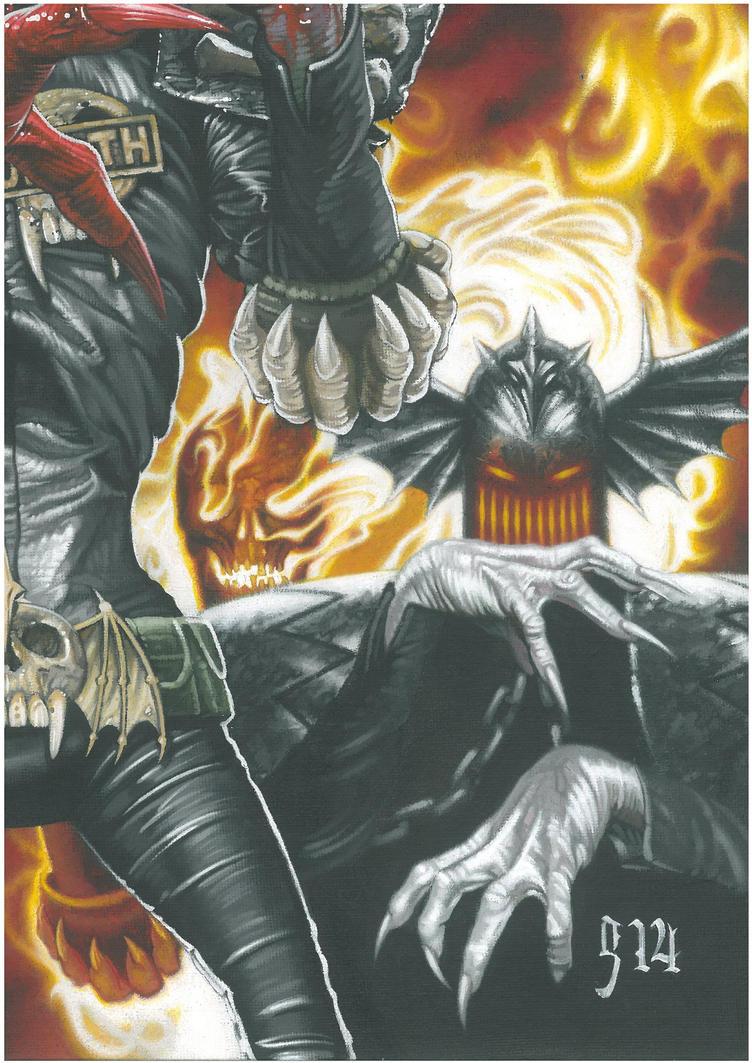 The Dark Judges III by BlackLabelArt