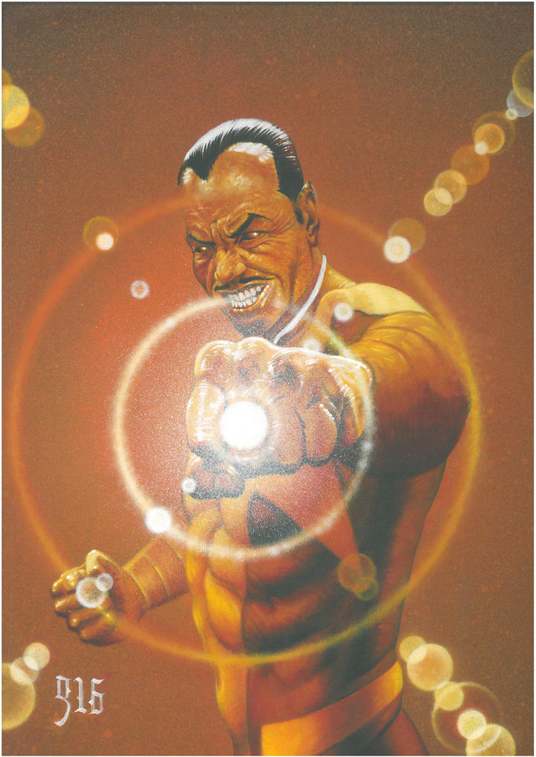 Sinestro Commission. by BlackLabelArt