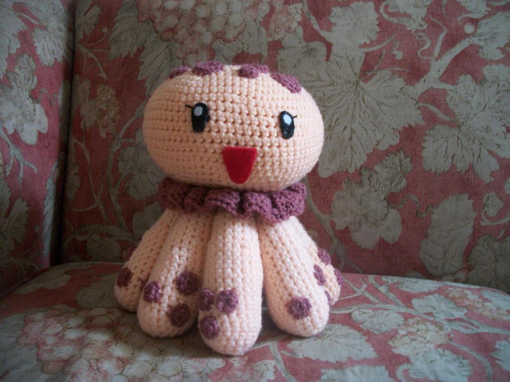 Amigurumi Jellyfish : Octopus amigurumi crochet tutorial youtube