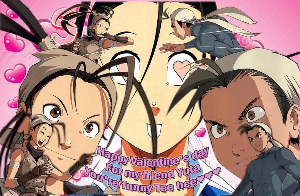 Ibuki and Yuta. St. Valentine's day by Rhykross