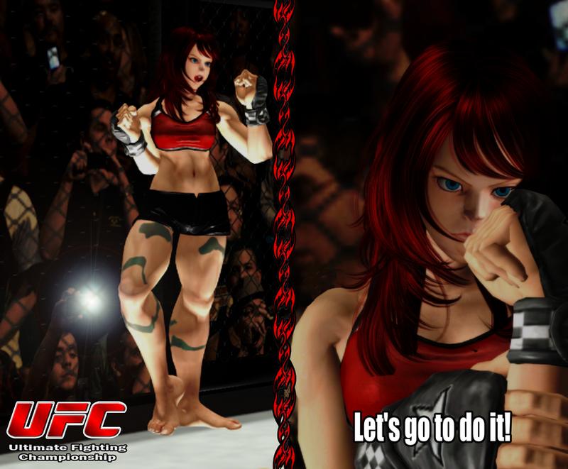 Ready to Fight - Iris Fong Bismarck by Rhykross