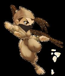 Chibi Ibuki Pose 1A by Rhykross