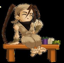 Chibi Ibuki Pose 4A by Rhykross