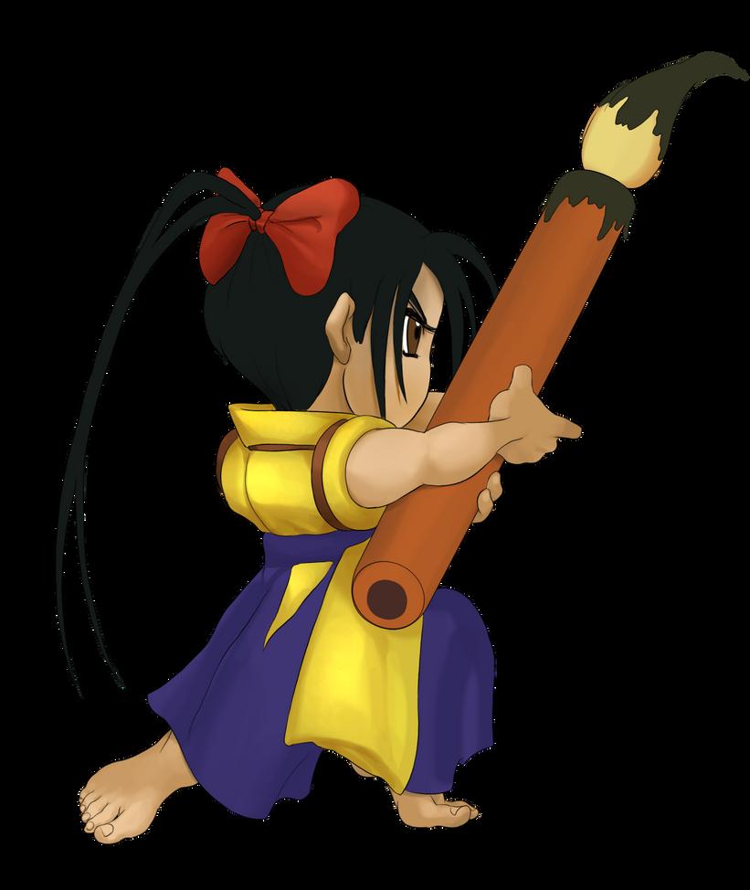 Chibi Ibuki B1 by Rhykross