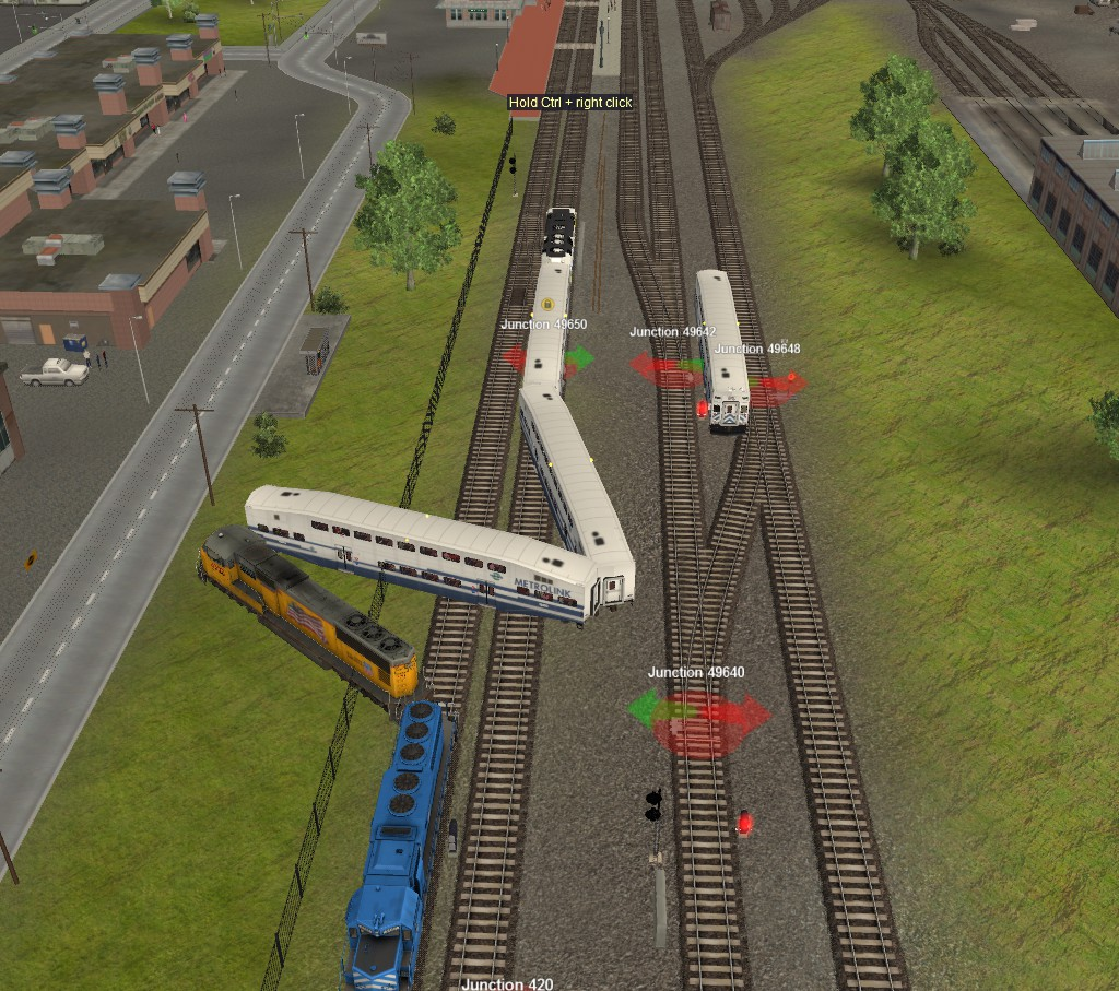 trainz wrecks  8 2005 glendale train crash by