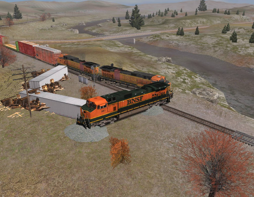 Trainz Wrecks #20 2008 Marysville Washington Wreck by