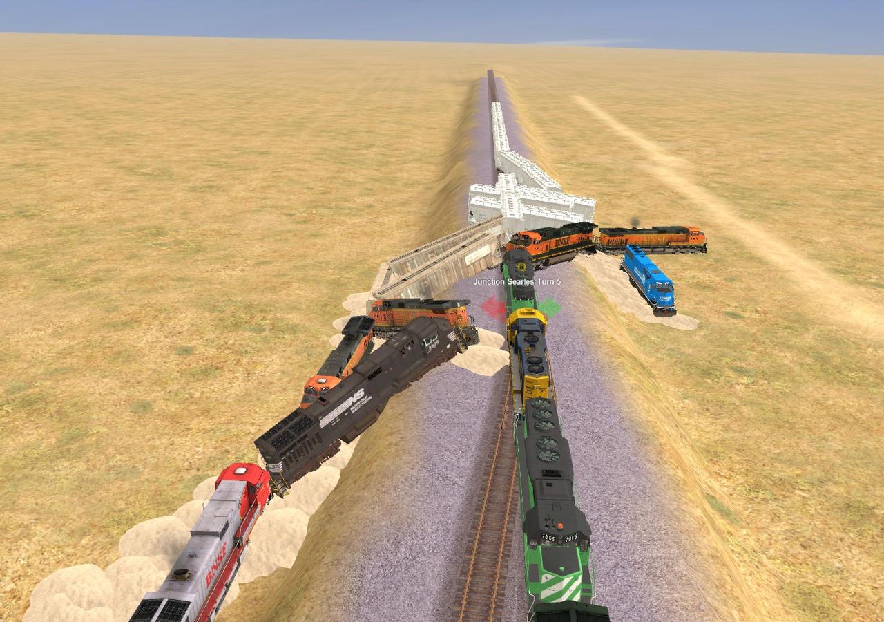 Trainz Wrecks #41 Kismet Train Collsion by oregonrailfan on