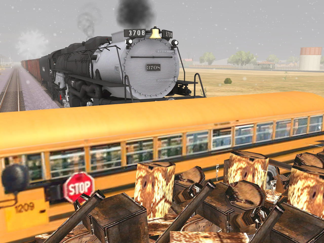 Trainz Wrecks 52 Sandy Utah Train Bus Crash By Oregonrailfan On Deviantart