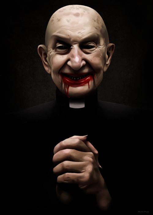 Priest by felicelilithfawn