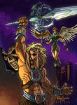 Masters of the universe color