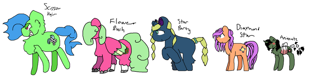 Unadopted Pones The I by Pokemusic
