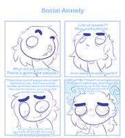 Social anxiety by SmokyJack