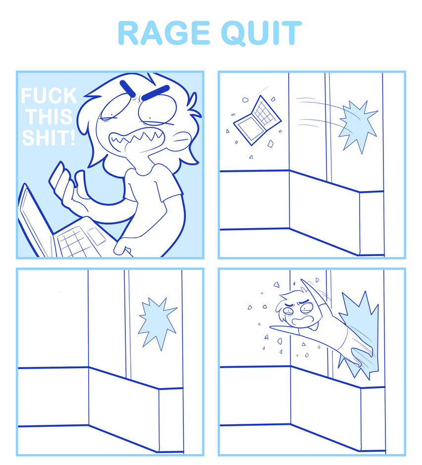 RAGE QUIT by SmokyJack