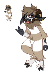 Pixel Commission for Wulfhednar by SmokyJack