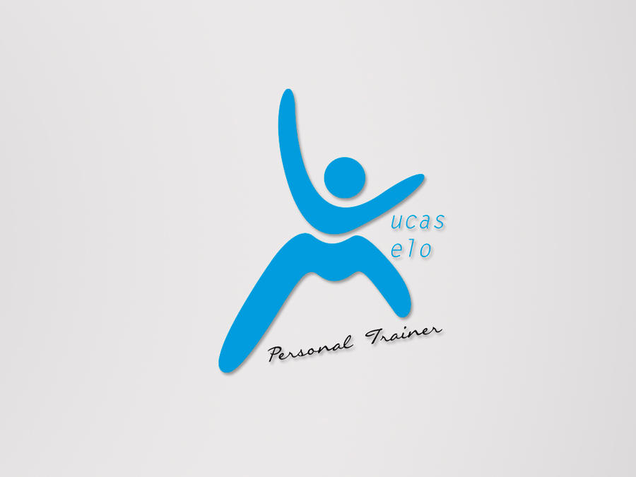 lucas melo personal trainer logo by juliuscaesarrock on deviantart