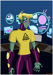 Brainiac 5 .:T-shirt:.