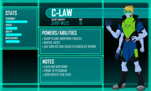 Young Justice OC _ C-Law