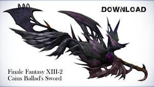 FF13-2 Caius Ballad's Sword for DL