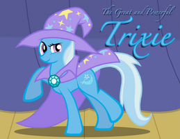 The Great and Powerful Trixie by Xain-Russell