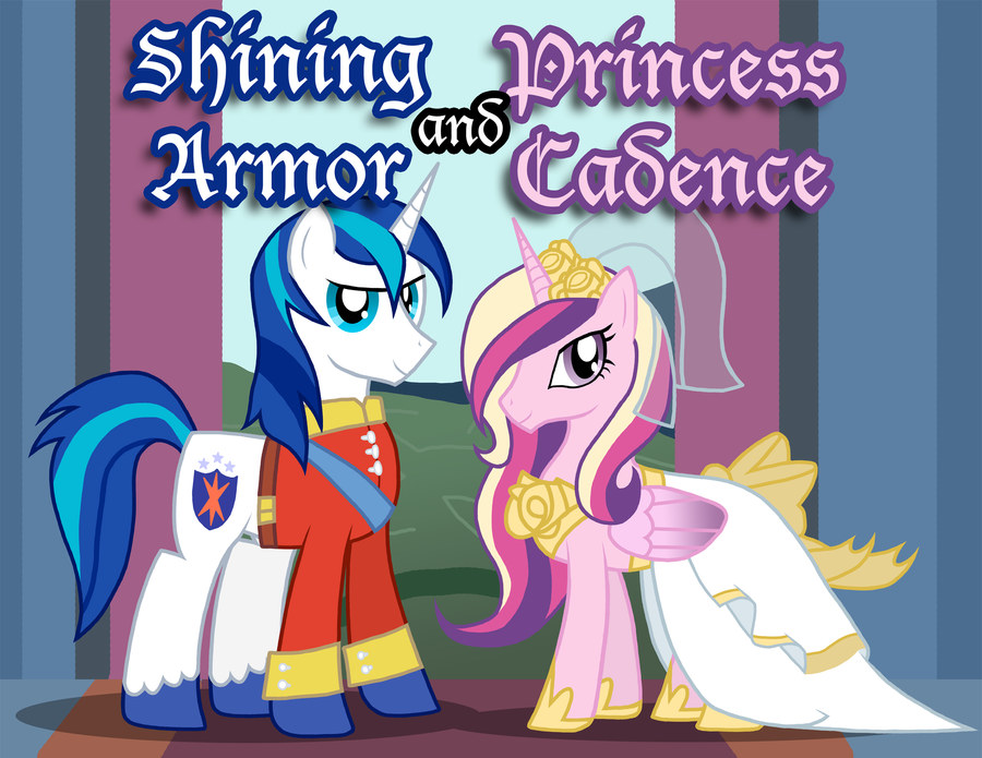 Shining Armor and Princess Cadence by Xain-Russell on DeviantArt