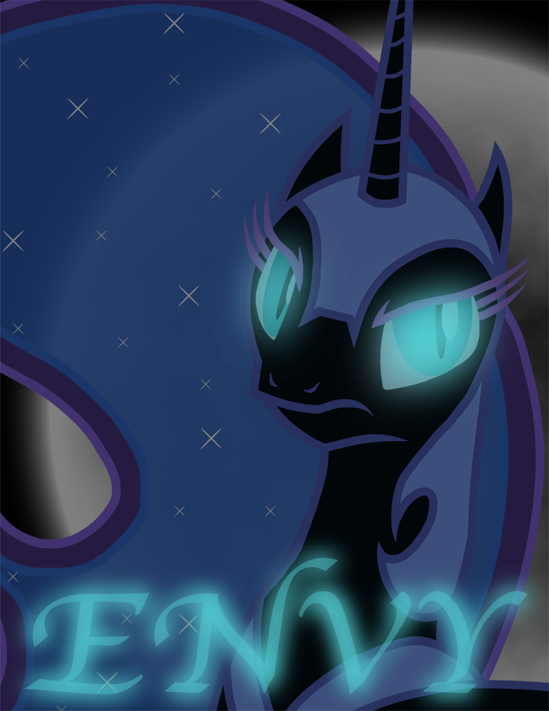 Envy - Nightmare Moon by Xain-Russell