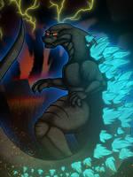 Godzilla by Xain-Russell
