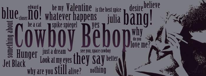 Cowboy Bebop - cover facebook