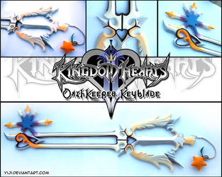 KHII - Oathkeeper Keyblade by Yiji