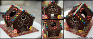 Happy Easter Chocolate House by Yiji