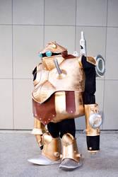 Prometheus M#R-66Y, A.K.A Robo by Yiji