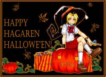 Happy Hagaren Halloween :D by Yiji
