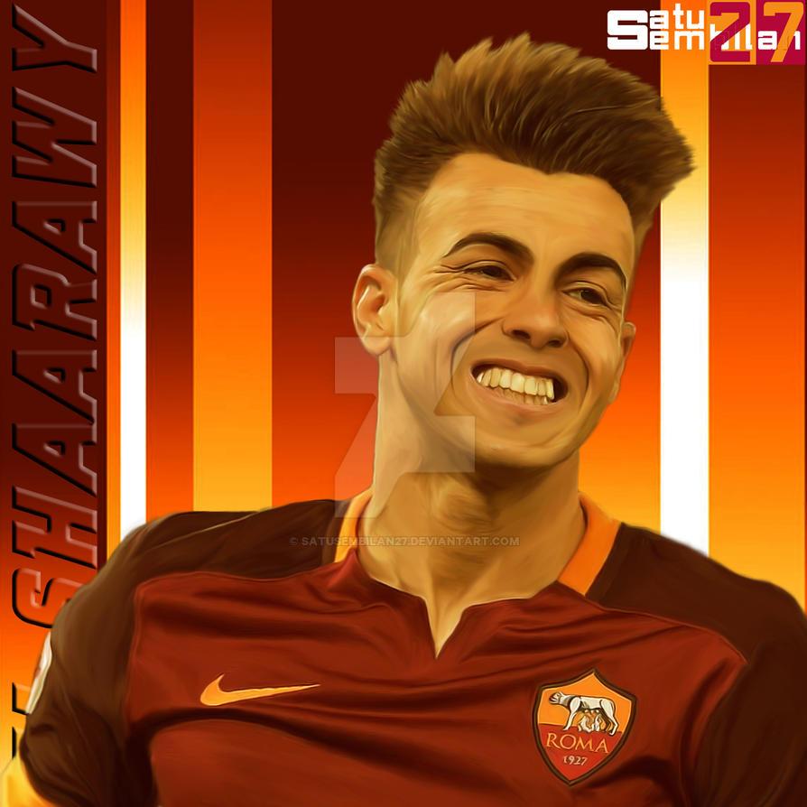 Stephan El Shaarawy AS Roma by SatuSembilan27 on DeviantArt
