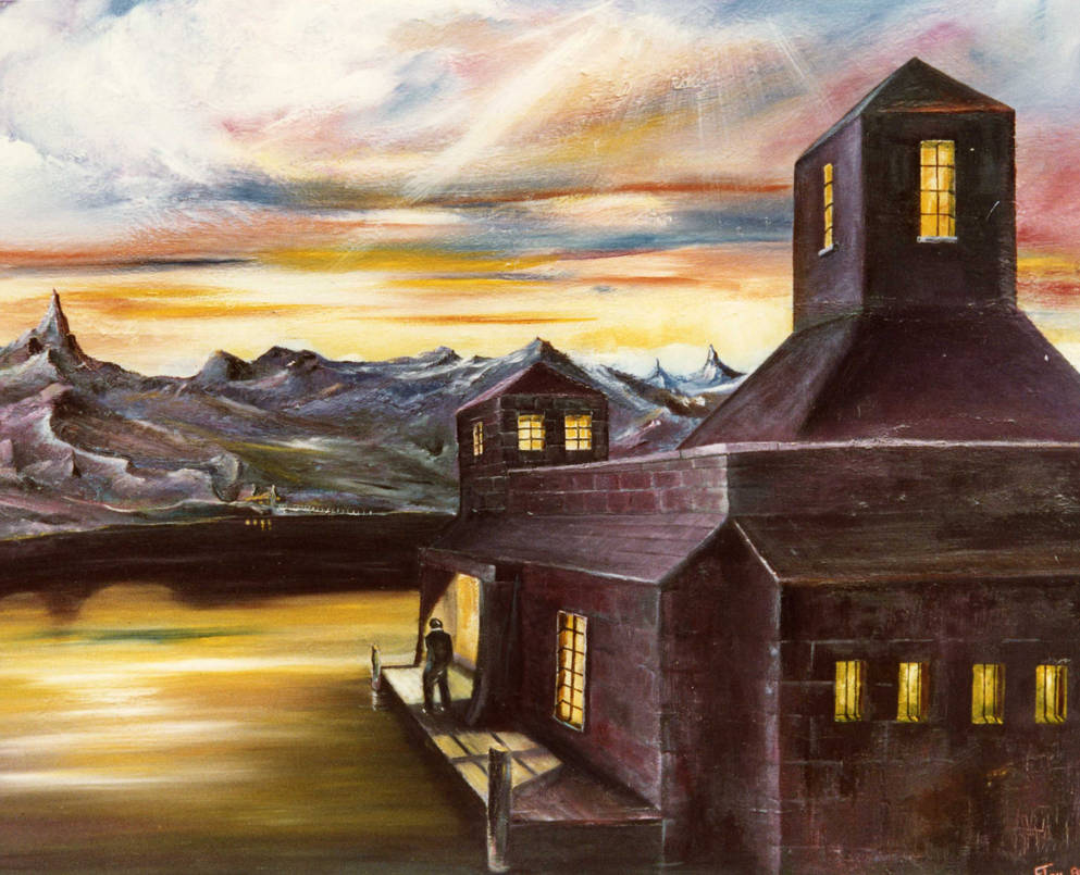 The Loch Keeper.   Sold by artofflay