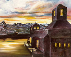 The Loch Keeper.   Sold