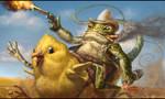 tailed cowboy frog by JupiterWaits
