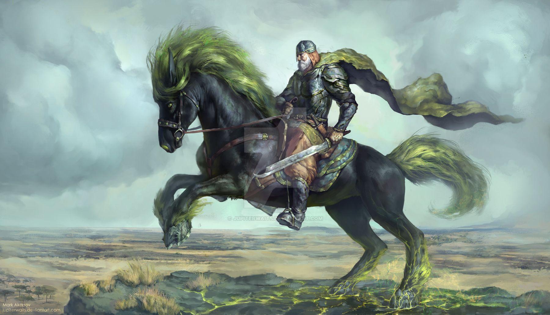 Deviantarts Robot Horse: Warrior On The Horse By JupiterWaits On DeviantArt