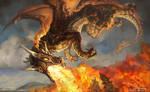 aspects illustration #2 Solaris, Dragon of the Sun