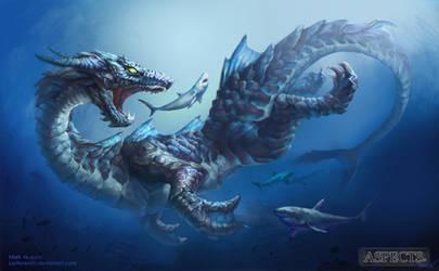 Aspects Illustration #3 Oceanis by JupiterWaits