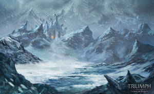 Background for Winter Event by JupiterWaits