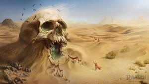 Crypt Skull by JupiterWaits