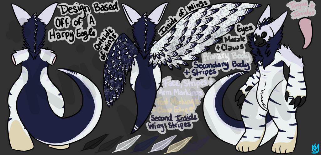Harpy Eagle Themed Wickerbeast by RainbowDashyMD