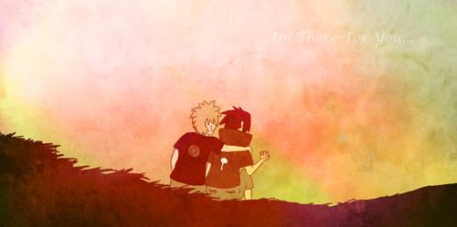 Naruto and Sasuke by HanaIchi
