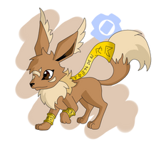 If Eevee Were a Digimon... by HaruByakko