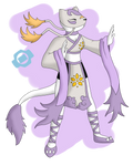 If Mienshao Were a Digimon...