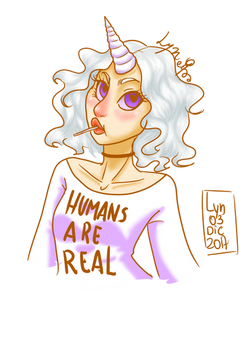 Humans Are Real