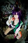 High school of the dead-Saeko