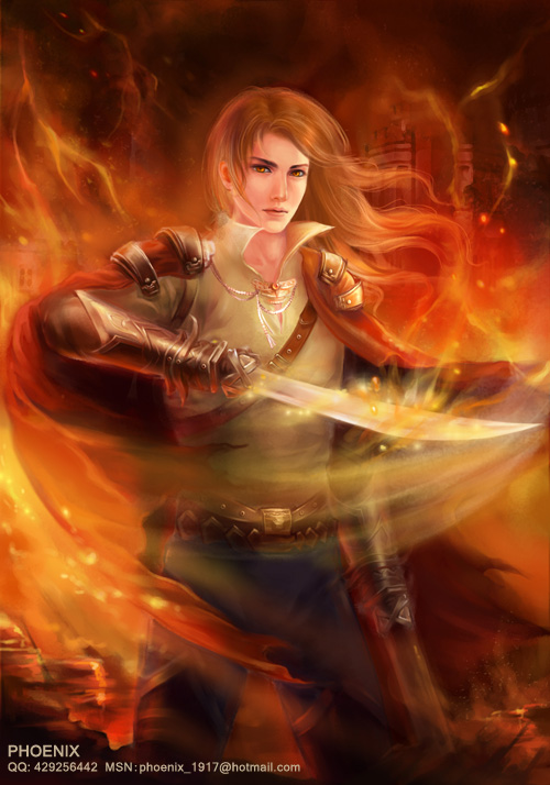 hand sword by phoenixlu