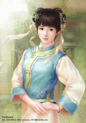 maid in Qing Dynasty