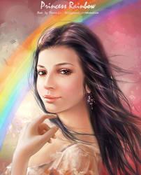 Princess Rainbow by phoenixlu