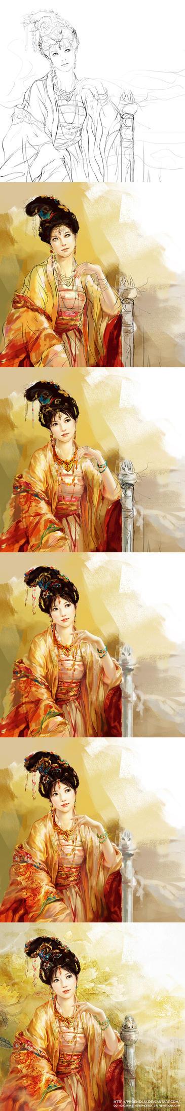 Steps of Empress by phoenixlu